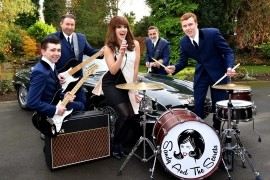 SANDY AND THE SECRETS - 60s Tribute Band - Cheshire, North of England