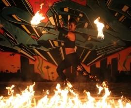 Violeta Fiesta - Fire Performer - Hollywood, Florida