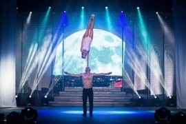Dolly & Cristian duo Acrobatic ( Hand to Hand )  - Acrobalance / Adagio / Hand to Hand Act -