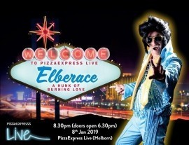 Elberace : Gay Elvis - Elvis Tribute Act - Greenwich, London
