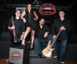 PartyGirl - Wedding Band - Rhode Island