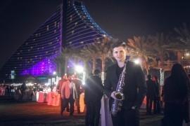 Saxophone show - Saxophonist - Dubai, United Arab Emirates