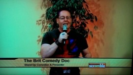 Daniel Nightingale (AKA Brit Comedy Doc) - Clean Stand Up Comedian - Phoenix, Arizona
