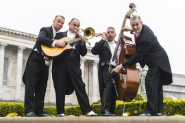 The Casablanca Steps - Jazz Band - Manchester, North of England