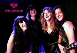 Fem Zeppelin Tribute Band - 80s Tribute Band - Los Angeles, California