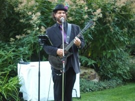 Monty Biggins - Blues Band - Whistler, British Columbia