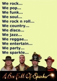 A Box Full Of Sparks - Function / Party Band - Merseyside, North West England