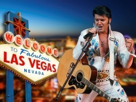 Eddy Popescu  - Elvis Tribute Act - Newcastle upon Tyne, North of England