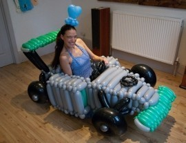 Come To My Party - Balloon Modeller - Oxford, South East