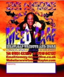 MEETLAAF  COMEDY TRIBUTE SHOW - Comedy Singer - Falkirk, Scotland