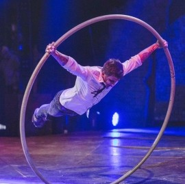 Artsiom Haurylik - Cyr Wheel Act - Houston, Texas