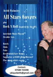 All Stars Covers - Male Singer - Blackburn, North West England