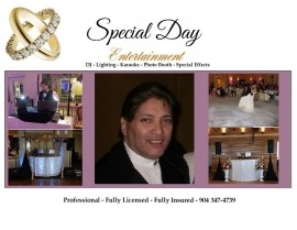 Special Day Entertainment - Wedding DJ - Jacksonville, Florida