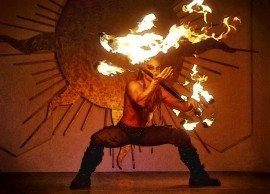 ZOR the FireBender - Fire Performer - Palm Springs, California