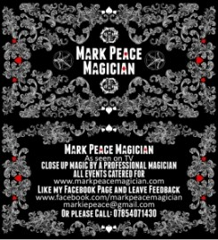 Mark Peace Magician, Close Up Magic, Corporate Magic, Party Magic image