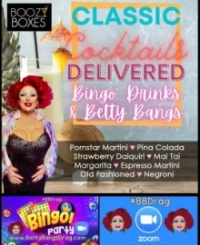 Betty Bangs - Drag Queen Act - Coventry, West Midlands