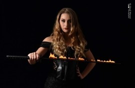 Veronica Jade - Fire Performer - Norwich, East of England