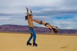 Roller Skates Act.  - Aerialist / Acrobat - Las Vegas, Nevada