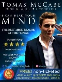 Tomas McCabe - Mentalist / Mind Reader - United Kingdom, London