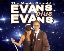EVANS plus EVANS - The Magic Couple - Comedy Cabaret Magician - Uxbridge, London