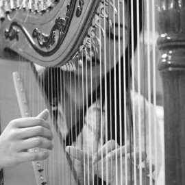 Irma Alexandra Britos Duarte - Harpist - Asunción, Paraguay