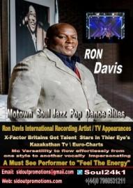 Ron Davis - Male Singer - Manchester, North West England