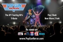 Pop Gun Rerun - A Tribute to the 80's - Cover Band - Newport Beach, California
