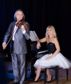 Sergei & Olga (Duo) violin & piano - Violinist - Canada, Quebec