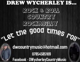 Drew Wycherley - Male Singer - South West