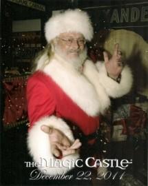 Magic Santa Claus - Close-up Magician - San Diego, California