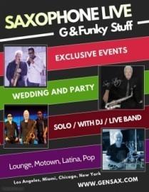 Gen Sax & Funky Stuff  - Saxophonist - Los Angeles, California