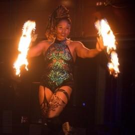 Blue Flame Flow Artist - Fire Performer - Memphis, Tennessee