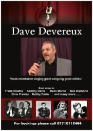 Dave Devereux  - Male Singer - Walsall, West Midlands