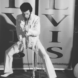 Danny Fisher as Elvis Presley - Elvis Tribute Act - Leicester, Midlands