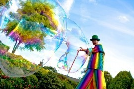 Bezerkaz Circus - Bubble Performer - Sutton, London
