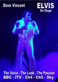 Dave Vincent - Elvis Tribute Act - Manchester, North of England