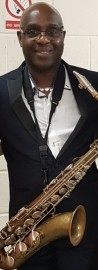 Tony Looby stage name  - UncleFunk - Saxophonist - Leicester, East Midlands