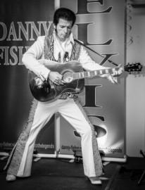 Danny Fisher as Elvis Presley image