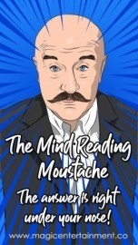 THE MINDREADING MOUSTACHE- - Other Artistic Entertainer - Liverpool, North of England