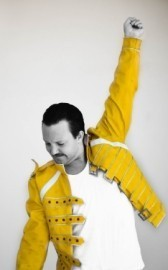Alex Holt  - Freddie Mercury Tribute Act - Knutsford, North of England