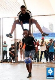 Siyajabula Soccer Freestylers - Football Freestyle Act - South Africa, Gauteng