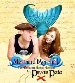 Mermaid Merchelle and Pirate Pete - Other Speciality Act - UK, South West