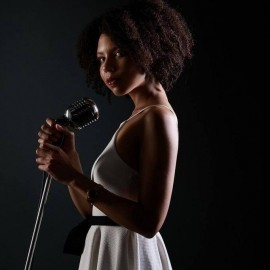 Crystal  - Jazz Singer - Westminster, London