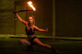 Carrie Hammack - Fire Performer - Kansas City, Missouri