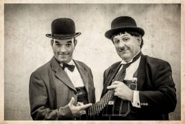 Laurel & Hardy Lookalikes with magic - Lookalike - Liverpool, North of England