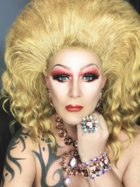 Cheri Treiffel  - Drag Queen Act - Glasgow, Scotland
