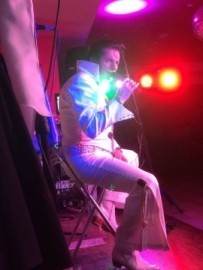 Joe Marcel Elvis Rocks Show & Full band - Elvis Impersonator - Lancashire, North West England