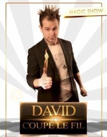 David coupe le fil - Close-up Magician - Belgium and Tenerife, Belgium