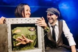 the LATEst Illusionists - Michael & Claudia LATE - Stage Illusionist -