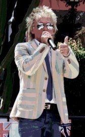 David John - Rod Stewart Tribute Act - Leeds, North of England